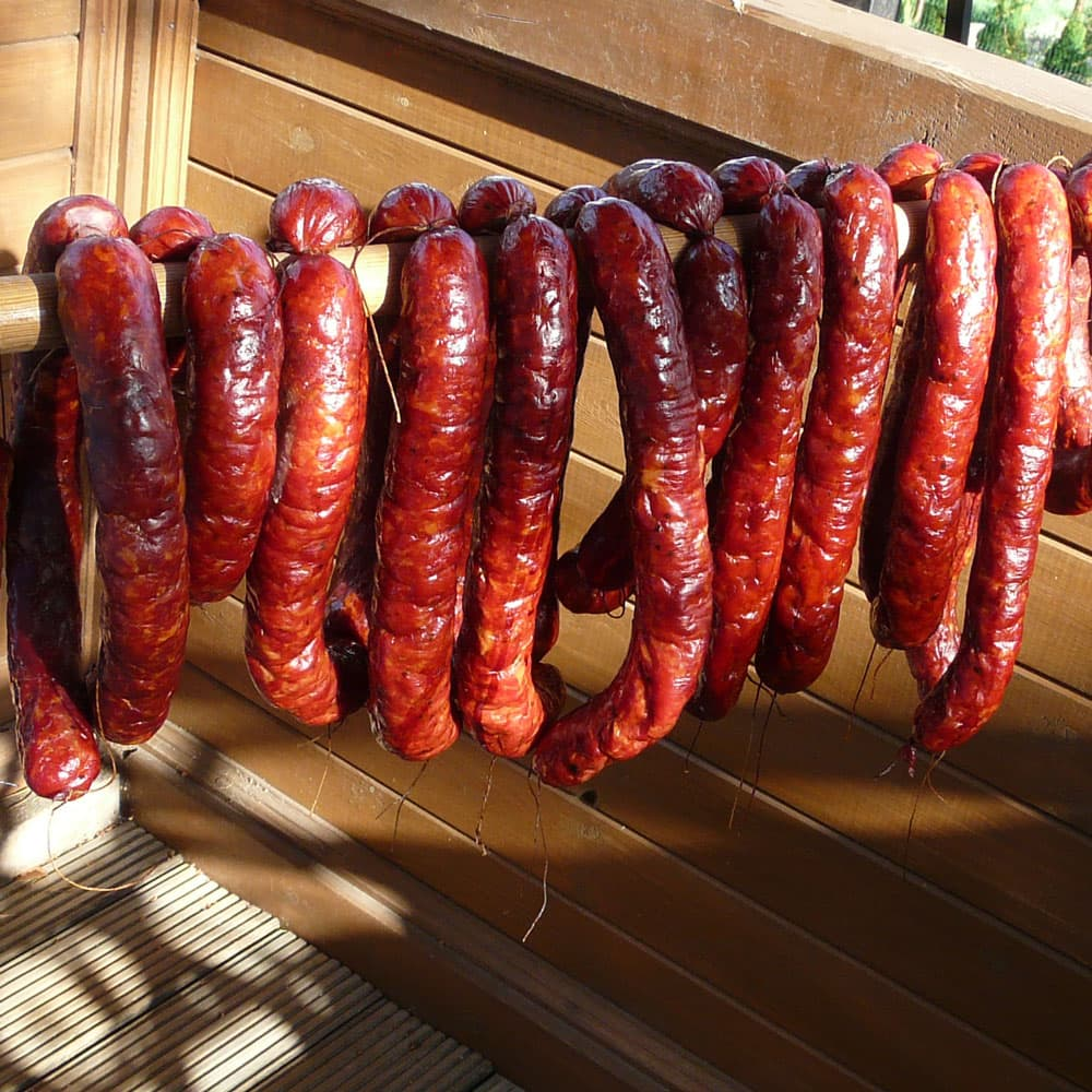 Borniak Smoker - Grandfather's sausage