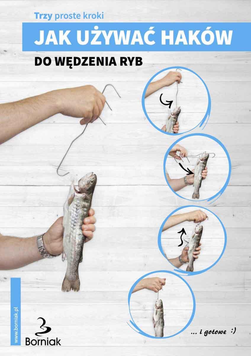 Jak używać haków do wędzenia ryb?